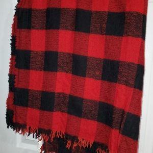 Aritzia Wilfred Wool Blanket Scarf